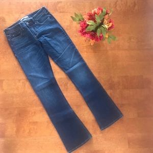 Abercrombie and Fitch Boot Cut Jeans